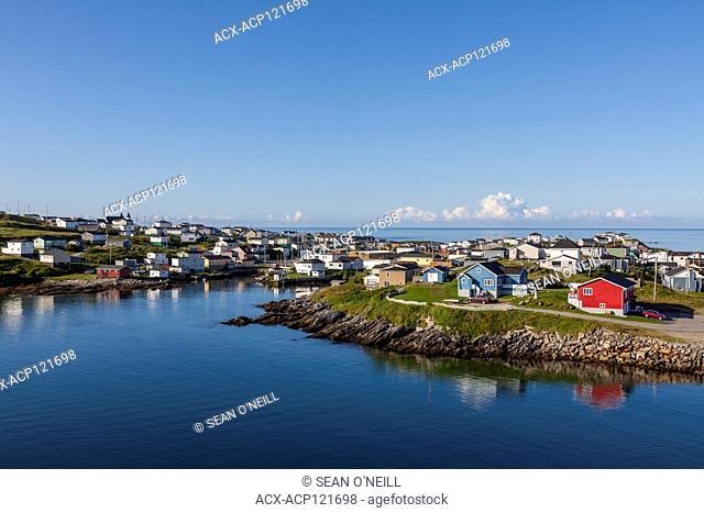 town of Port aux basques, Newfoundland, west coast of Newfoundland