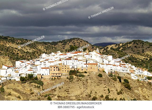 The White Town of Torre Alháquime, Cádiz province, Andalusia, Spain