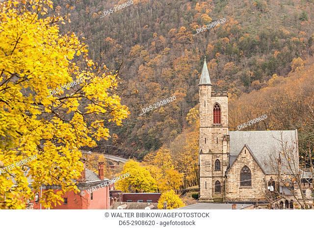 USA, Pennsylvania, Jim Thorpe, St. Marks Episcopal Church