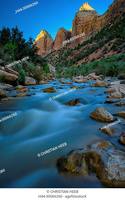 North America, American, USA, Southwest, Colorado Plateau, Utah, Zion, National Park, Virgin river