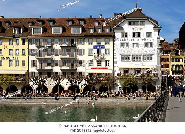 Old town of Luzern, Switzerland, Europe