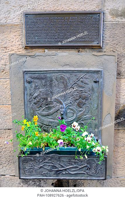 Witches Well is situated at the entrance of Edinburgh Castle - a cast iron wall fountain commemorates the place where over three hundred women were burned at...