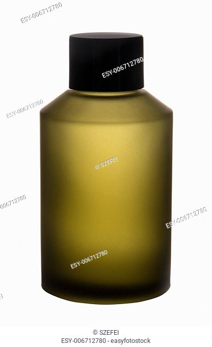 Medicine / cosmetic bottle isolated on white