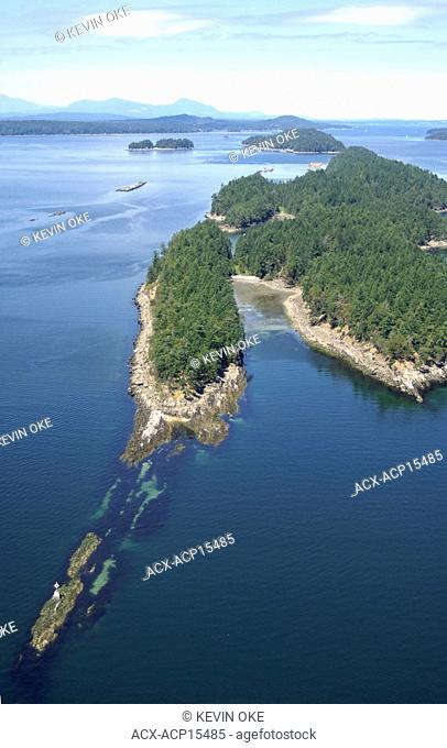 Wallace Island Marine Park is located off the northern tip of Salt Spring Island. Gulf Islands, British Columbia, Canada