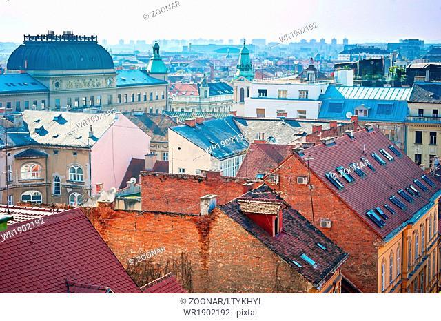 Zagreb skyline