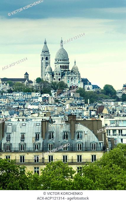 Montmartre and Basilica Sacre Coeur