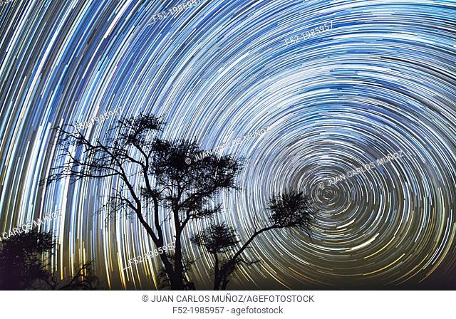 Stars and sky, Kalahari Desert, Botswana, Africa