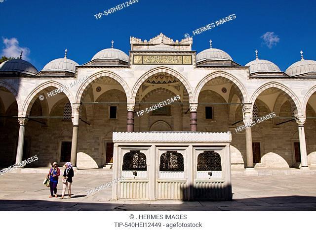 Turkey, Istanbul, Suleymaniye Mosque