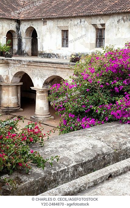 Antigua, Guatemala. Capuchinas Convent, Built 1736