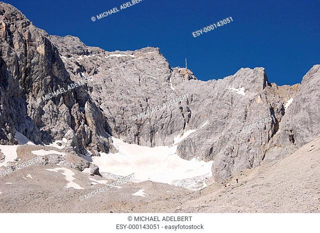 Zugspitze über Höllentalferner