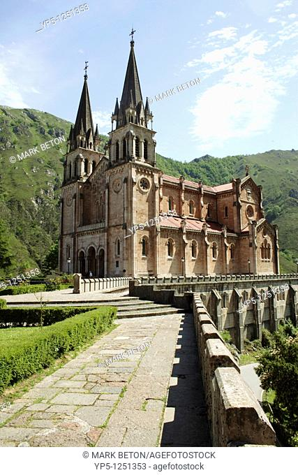 Basilica of Covadonga Asturias Spain