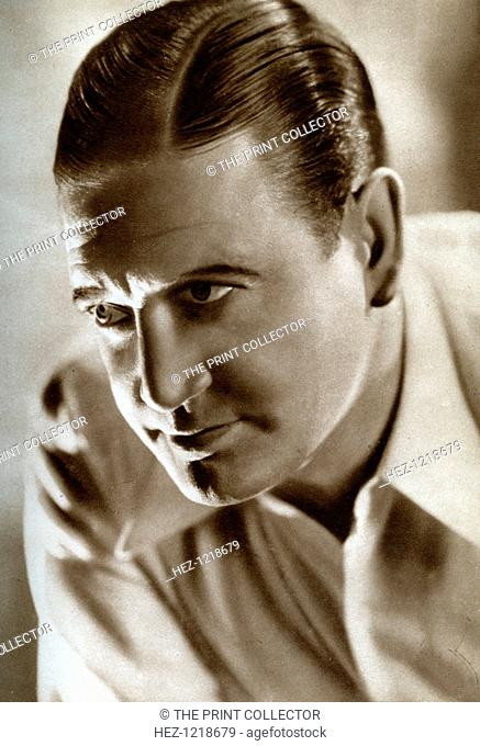Richard Dix, American actor, 1933. Dix (1893-1949) moved to Hollywood, where he began a career in Westerns. One of the few actors to successfully bridge the...