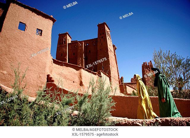 Ait-Benhaddou Kasbah  Morocco