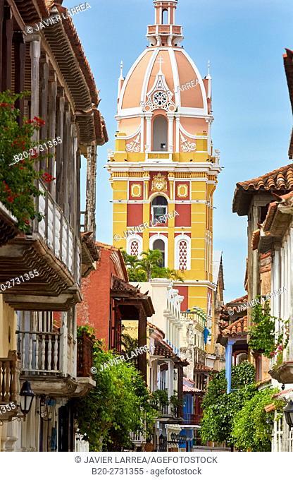 Cathedral Basilica of Saint Catherine of Alexandria, Cartagena de Indias, Bolivar, Colombia