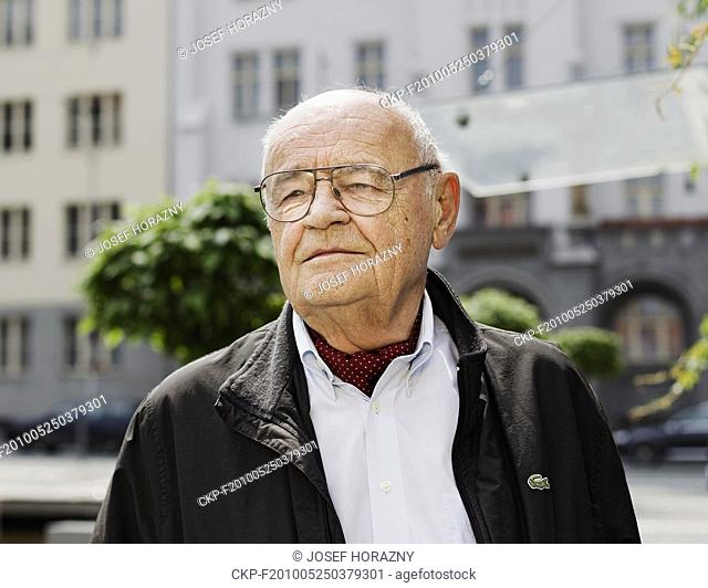 ***FILE PHOTO*** Vaclav Vorlicek, famous Czech producer, director, filmmaker and screenwriter pictured in Prague, Czech Republic, on May 16, 2010