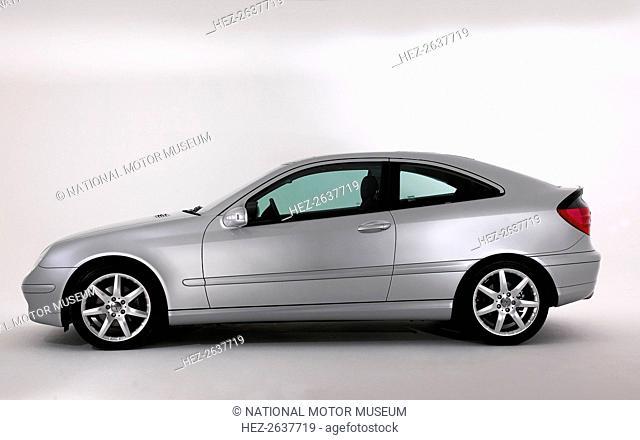2003 Mercedes Benz C200k Coupe. Artist: Unknown