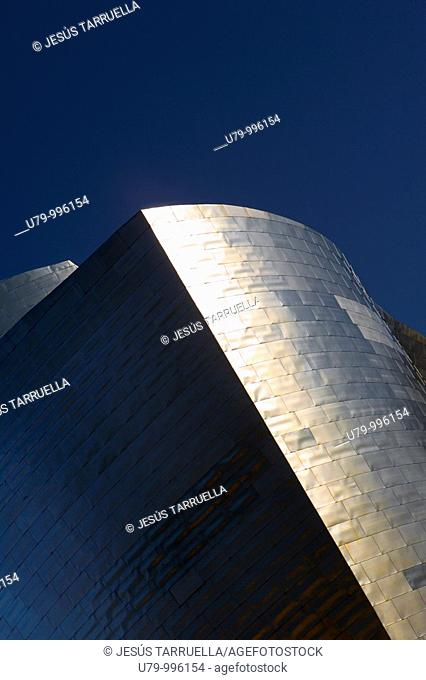 Guggenheim Museum by Frank O  Gehry  Bilbao  Biscay, Spain