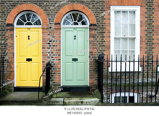 London door, England