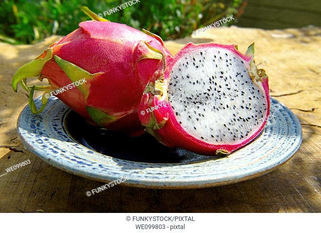 Fresh Dragon Fruit (Hylocereus undatus)