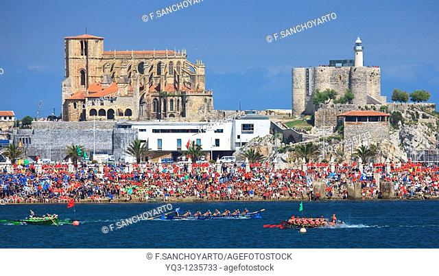 Trawler race, Spanish Championship, Castro Urdiales, Cantabria, Northern Spain