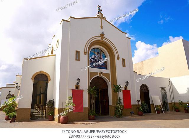 Iglesia de San Miguel Church in Cozumel Mexico