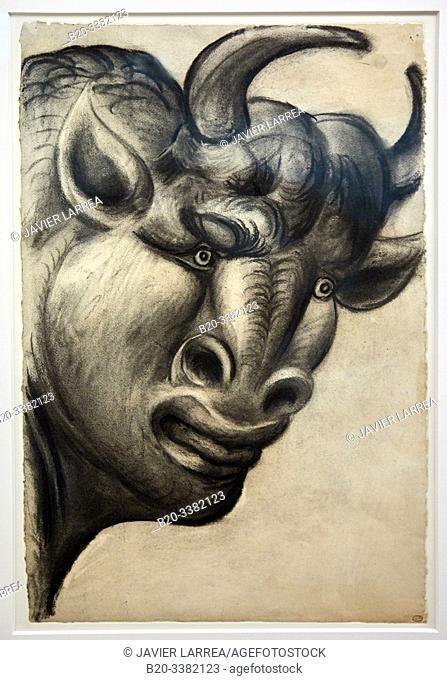 """Minotaure"", 1933, Pablo Picasso, Picasso Museum, Paris, France, Europe"