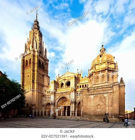 Primate Cathedral of Saint Mary of Toledo. Spain