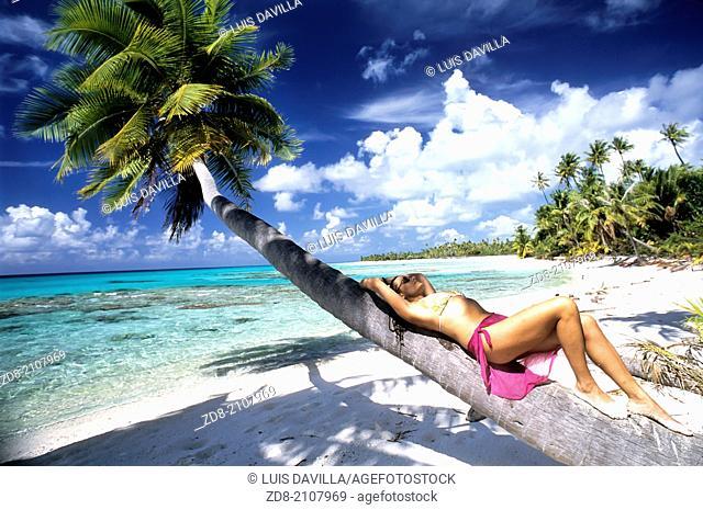rangiroa.Polynesia