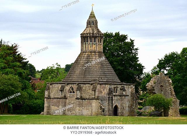 Abbot's Kitchen, Glastonbury Abbey, Glastonbury, Somerset, England
