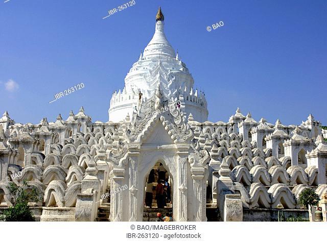 Hsin-byu-me Pagoda, Mingun, Myanmar, Burma