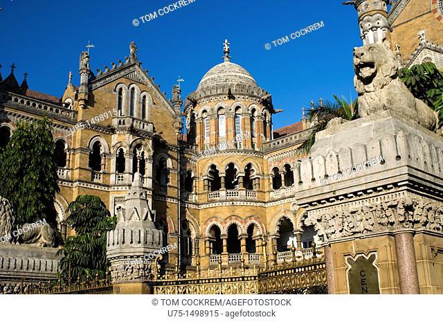 Victoria Terminus, Chhatrapati Shivaji, Mumbai, India