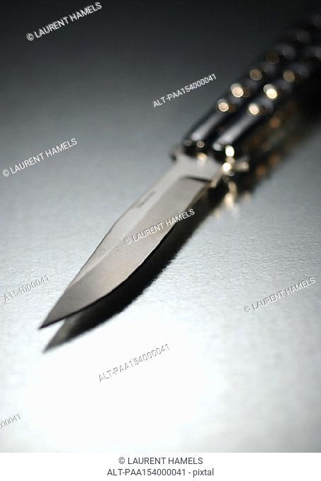 Pocket knife, blurred