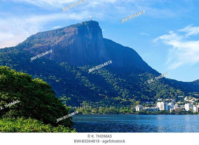 Lagoa Rodrigo de Freitas, Brazil, Rio de Janeiro
