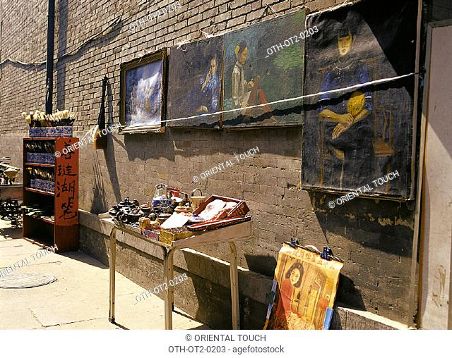 Antique paintings, Beijing, China