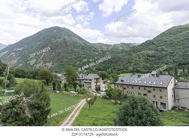 Barruera village Boi valley Lleida Catalunya Spain