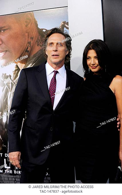 William Fichtner arrives at the Los Angeles Premiere 'Elysium' at Regency Village Theatre on August 7, 2013 in Westwood, California