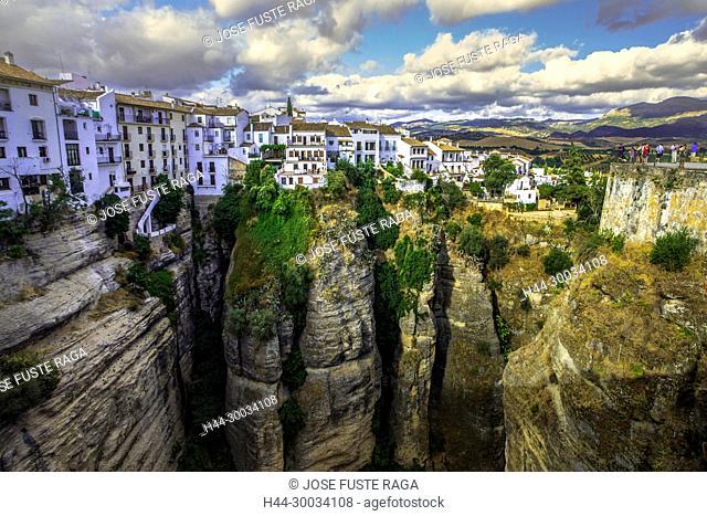 Spain, Andalucia,, Malaga Province, Ronda City