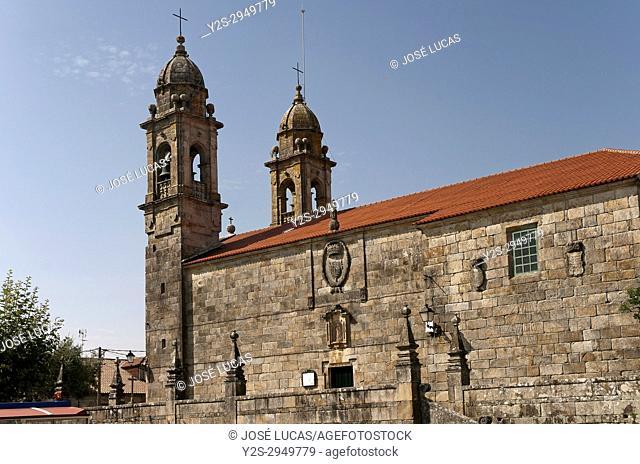 Church of San Benito, Cambados, Pontevedra province, Region of Galicia, Spain, Europe
