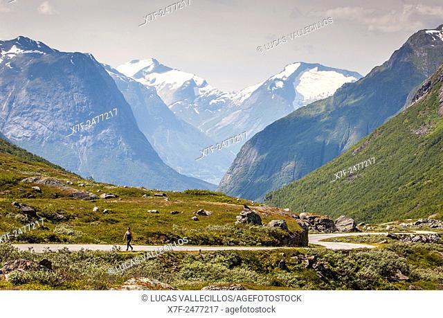 Landscap, in Scenic road Gamle Strynefjellsvegen, Norway