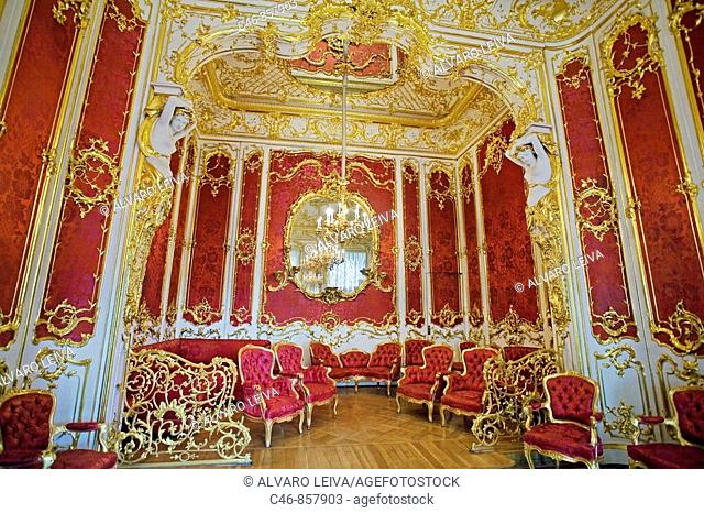 Hermitage Museum. St. Petersburg. Russia