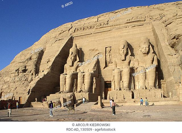 Abu Simbel Temple Abu Simbel Nubia Egypt Great Temple Ramesses II