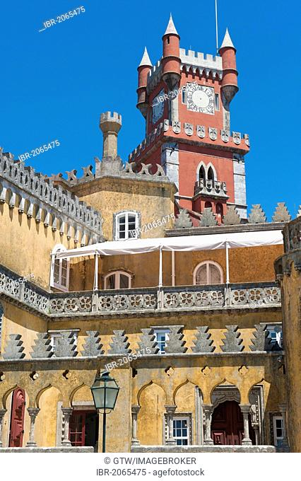 Palacio da Pena, Sintra, Unesco World Heritage Site, Lisbon, Portugal, Europe