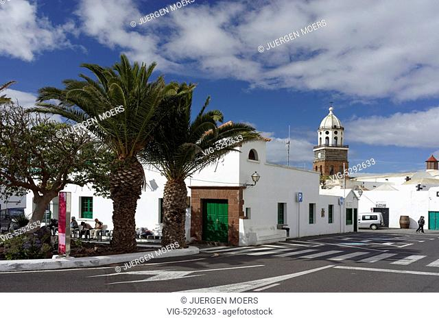 07.02.2015, Spain, ESP, Canary Islands, Lanzarote, Teguise, Look at the old Island capital City Teguise. - Teguise Lanzarote Kanarische Ins, Spain, 07/02/2015