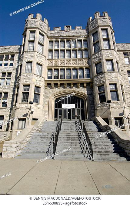 Hume Fogg Academic High School, Nashville's First Public School Nashville Tennessee. USA