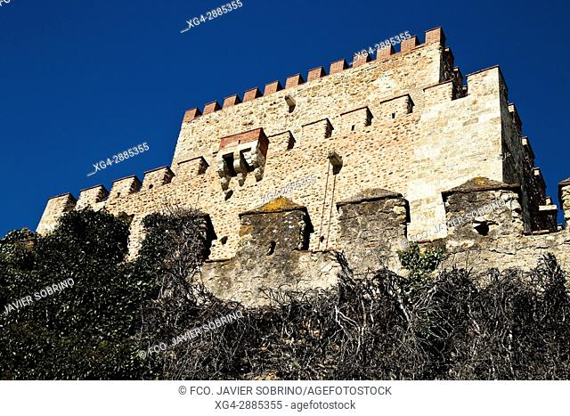 Castle of Henry II of Trastámara, now a Parador Nacional (State-run hotel). Salamanca, Castile-Leon, Spain