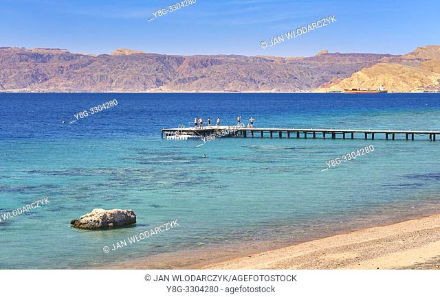 Beach resort Berenice, Aqaba, Jordan