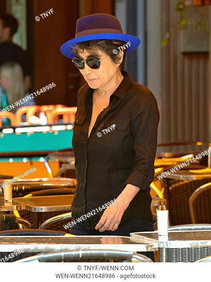 Yoko Ono goes out for lunch lunch at Bar Pitti in New York City Featuring: Yoko Ono Where: New York City, New York, United States When: 26 Aug 2014 Credit:...