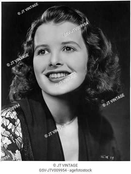 Mary Maguire, Publicity Portrait for the Film, Alcatraz Island, Warner Bros., 1938