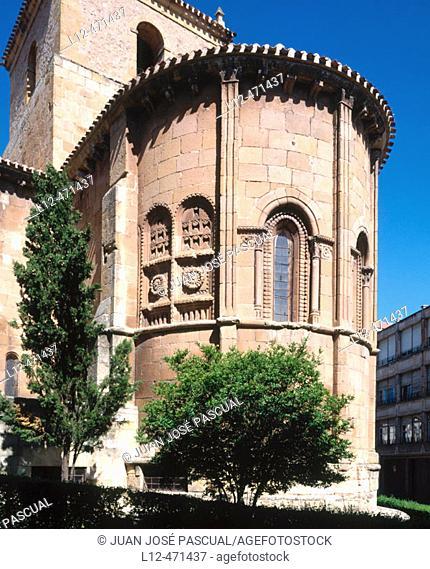 Romanesque church of San Juan de Rabanera (12th century), Soria. Castilla-León, Spain
