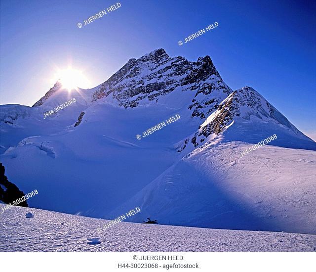 Switzerland, swiss alps, Jungfrau plateau, Top of europe, 13642ft